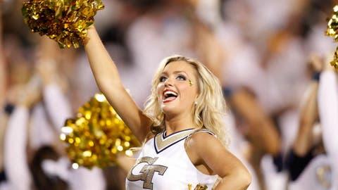 Georgia Tech cheerleader