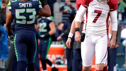 Cardinals at Seahawks