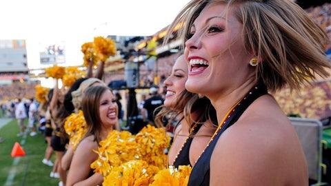 ASU cheerleaders