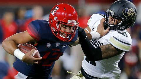 Arizona vs. Colorado, Nov. 8