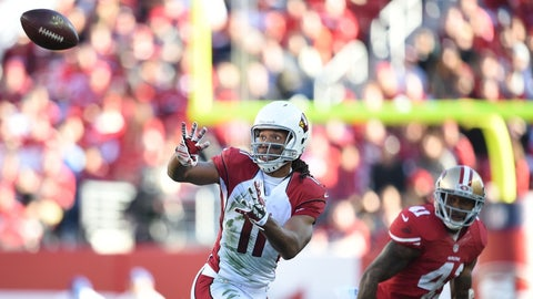 What are realistic expectations for Larry Fitzgerald?