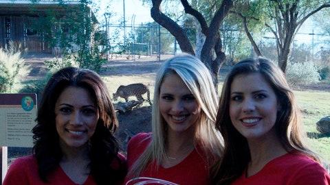 FOX Sports Arizona Girls promo shoots