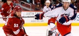 Coyotes cut down, shut out by Blue Jackets
