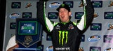 Kyle Busch splashes his way to Nationwide win at PIR