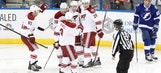 Coyotes take down Lightning in shootout