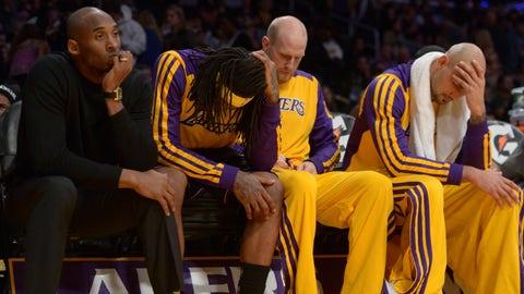 The Lakers' luck has been bad ever since
