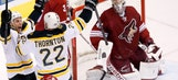 Coyotes can't keep Bruins from 12th straight win