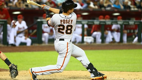 Buster Posey, 2008
