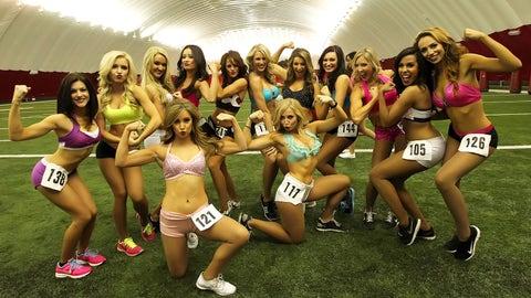 Cardinals cheerleader tryouts