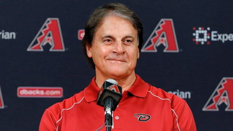 Tony LaRussa - Chief Baseball Officer, Arizona Diamondbacks