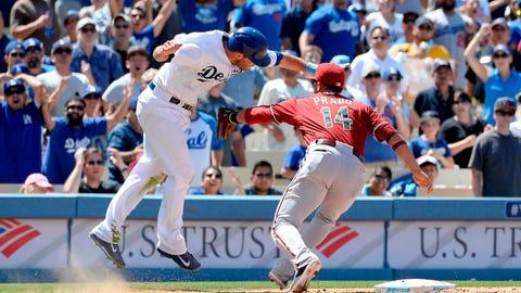 D-backs at Dodgers: Sunday, June 15