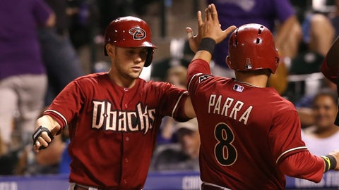D-backs at Rockies