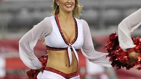 2014 Arizona Cardinals cheerleaders