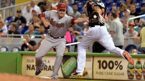 D-backs at Marlins: Saturday, Aug. 16