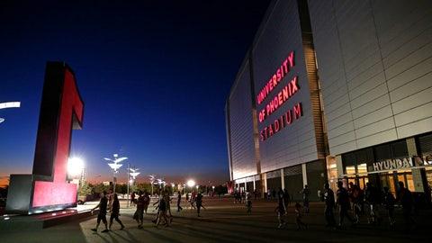 New Orleans Saints: University of Phoenix Stadium (Cardinals)