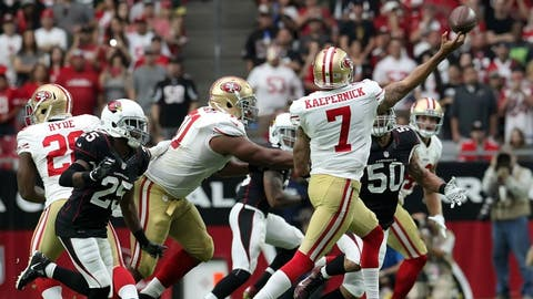 49ers at Cardinals, Sept. 21