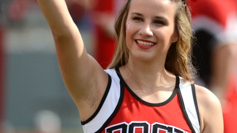 North Carolina State cheerleader