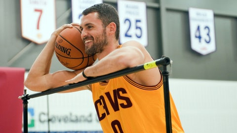 Kevin Love, PF, Cleveland Cavaliers