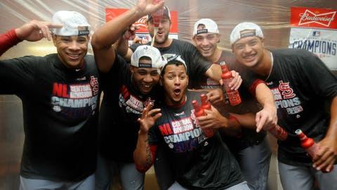 NL Central champions: St. Louis Cardinals