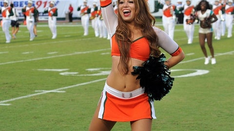 Miami cheerleader