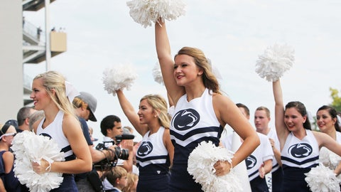 Penn State cheerleaders