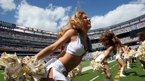 New York Jets cheerleaders