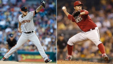 Diamondbacks (59-86) at Giants (80-65)