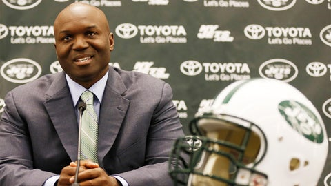 What does head coach Todd Bowles do in his first season?