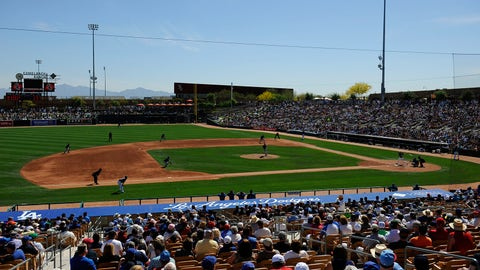 Spring home: Camelback Ranch