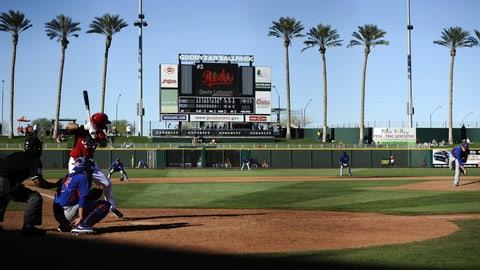Spring home: Goodyear Ballpark