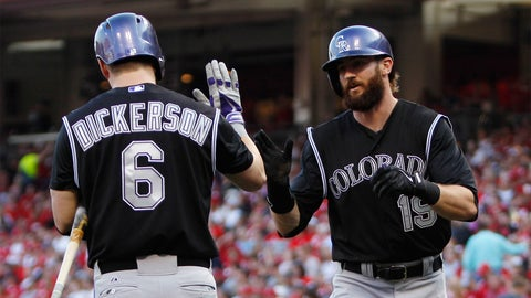 Three things to watch: Can Corey Dickerson and Charlie Blackmon repeat 2014?