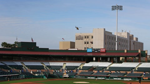 Spring home: Scottsdale Stadium