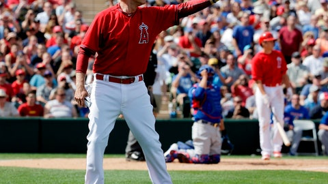 Ferrell with the Angels