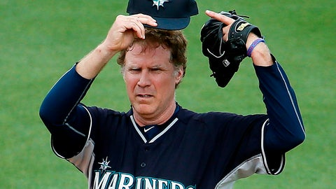 Ferrell with the Mariners