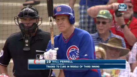 Ferrell with the Cubs