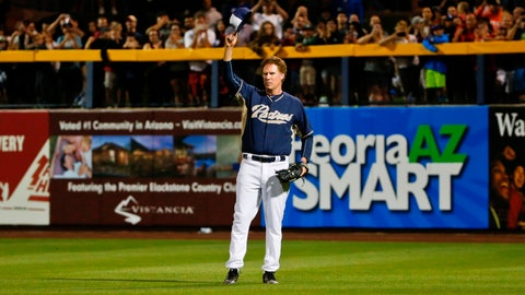 Ferrell with the Padres