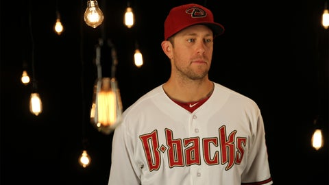 Second baseman Aaron Hill