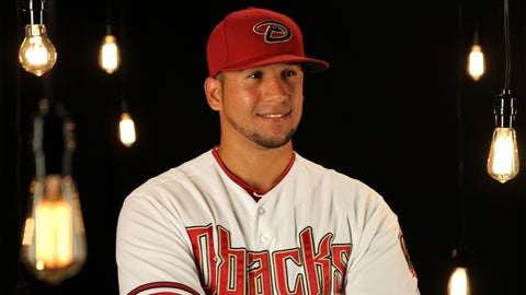 Outfielder David Peralta