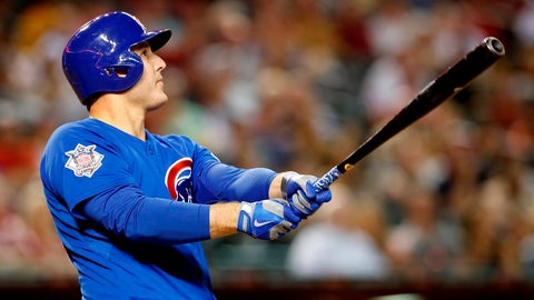 Rizzo hammers Reds