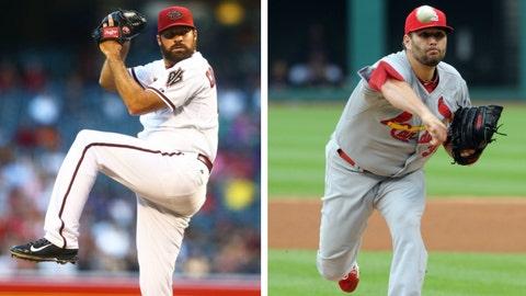 Diamondbacks (21-24) vs. Cardinals (30-16)