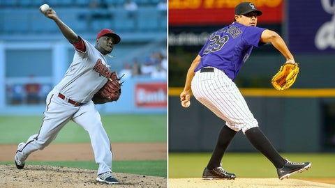 Diamondbacks (35-36) vs. Colorado (31-40)