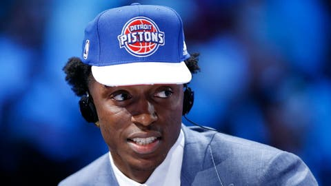 Arizona F Stanley Johnson; Pistons (First round, 8th overall)