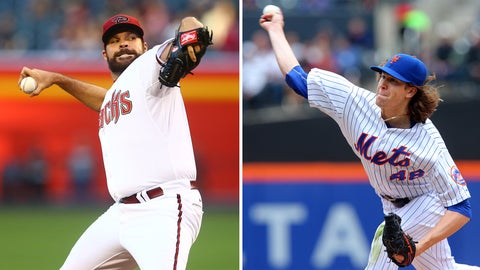 Diamondbacks (27-28) vs. Mets (30-27)