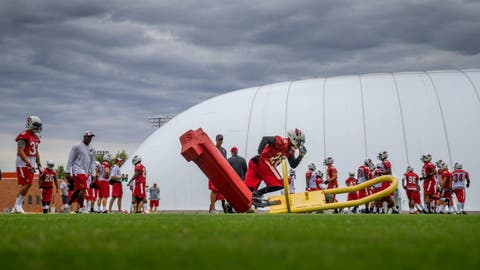 Cardinals mini-camp, June 9