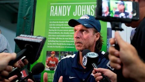Randy Johnson's weekend in Cooperstown