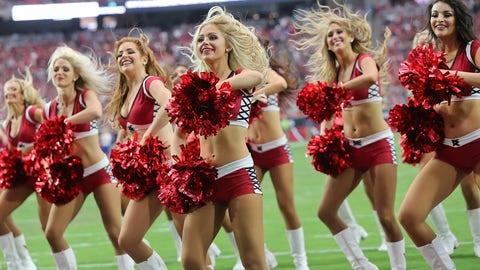 Cardinals cheerleaders