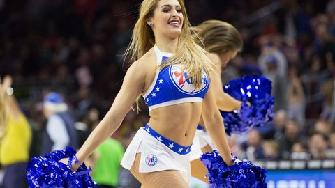NBA dancers: January