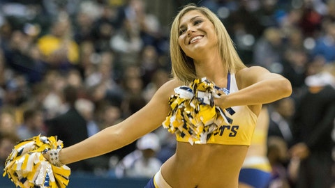 NBA dancer: January