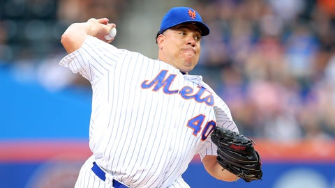 Mets starting pitcher Bartolo Colon