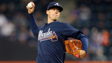 Braves starting pitcher Matt Wisler